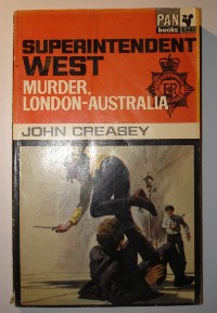 Creasey, John. Murder, London-Australia. Price: £1.75 (not including p&p, which for UK buyers is £2.75, more for overseas buyers)