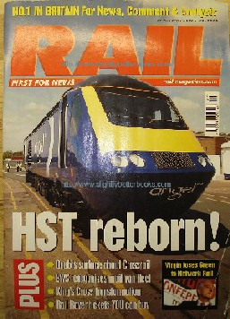 Harris, Nigel (Ed.) Rail Magazine, No. 514, May 25th - June 27th. Condition: Very good clean & tidy copy with slight crease to cover corner. Price: £1.99, not including p&p, which is Amazon's standard charge (currently £2.75 for UK buyers, more for overseas customers). Don't forget to visit our model railways and railways pages!!